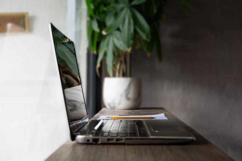 Laptop als Online Brand Touchpoint