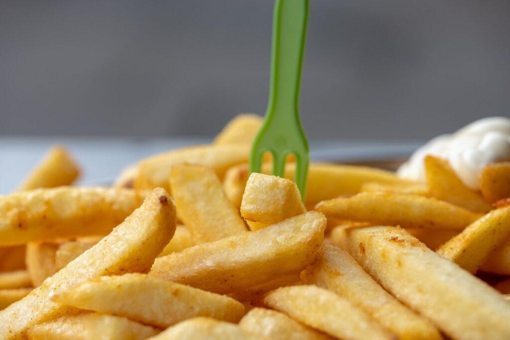 Abbildung von Pommes Frites als Bild für Facebook Promotion