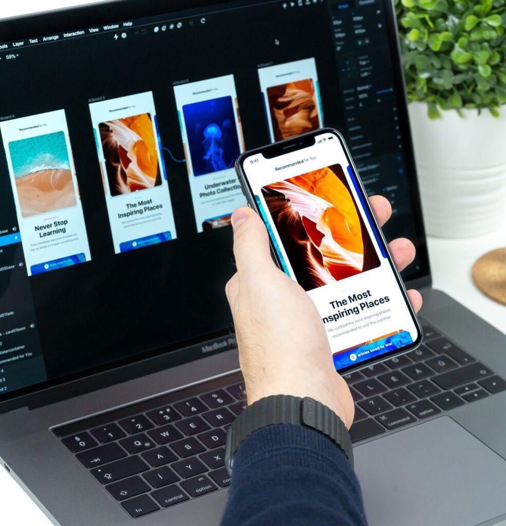 Abbildung von Facebook Shop App